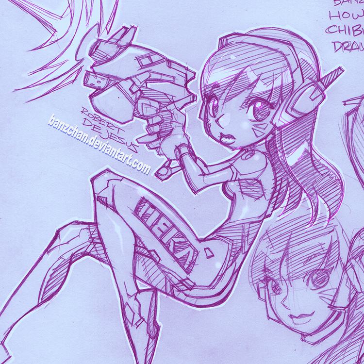 png black and white library Overwatch d va by. D.va drawing fanart