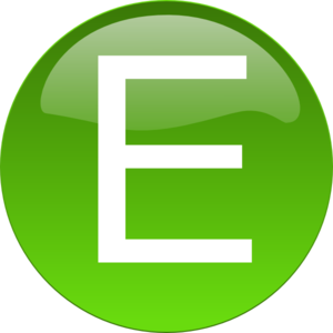 black and white Green clip art at. E clipart.