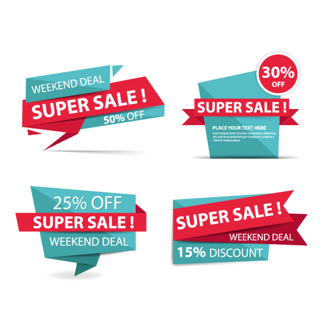 jpg freeuse download Vector concepts banner. Colorful shopping sale template