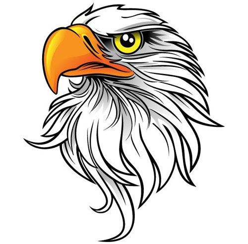 vector transparent stock  images of eagle. Gallery clipart eagel.