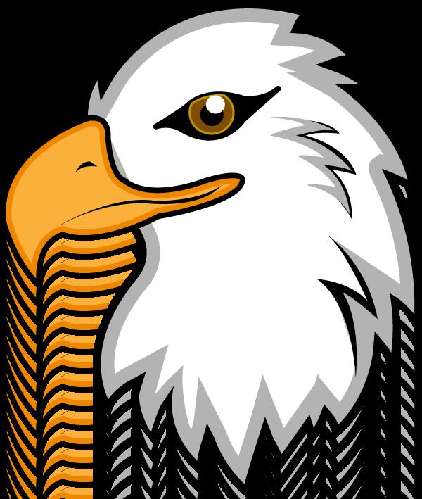 png free download Eagle eagles pinterest clip. Bald clipart bald head.