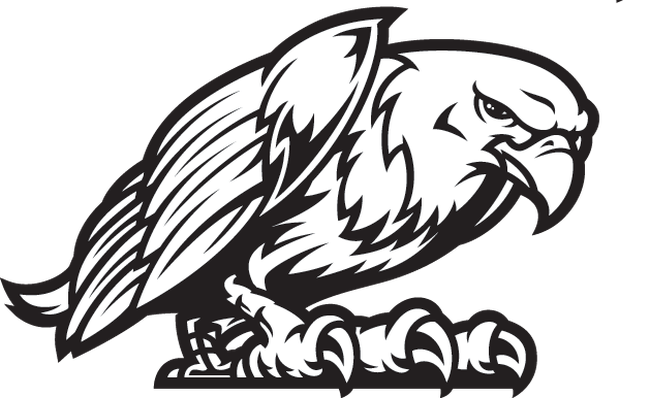 freeuse Eagles clipart mascot. Eagle fight stance the