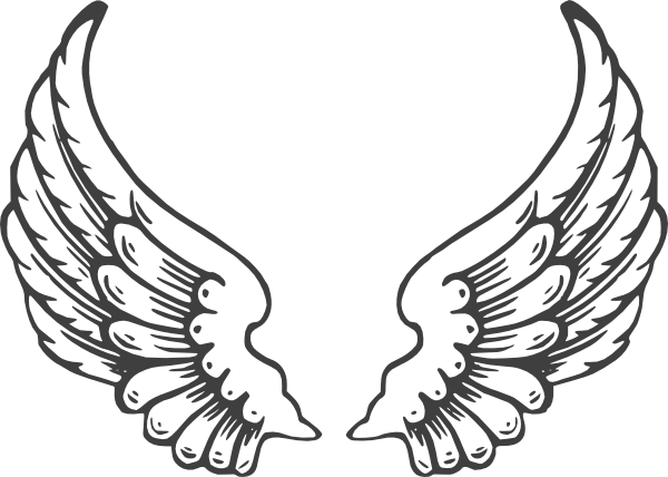 graphic library download Grey Eagle Wings Clip Art at Clker
