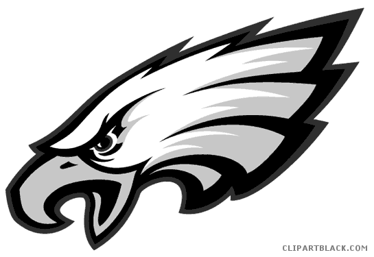 jpg free stock Philadelphia clipartblack com animal. Eagles clipart.