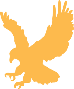 png free library Gold Eagle Clip Art at Clker