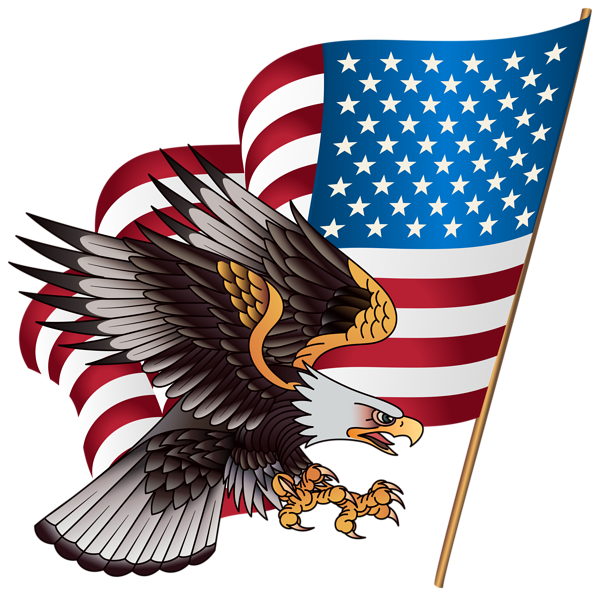 banner library American Eagle Transparent PNG Clip Art Image