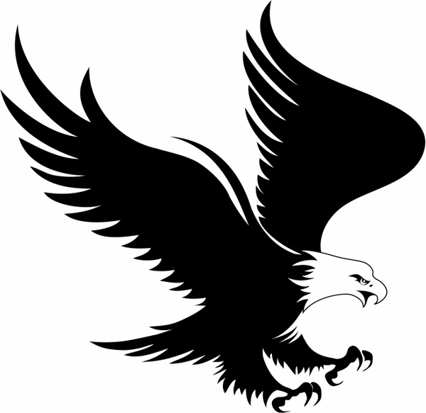 clipart freeuse library Eagle free vector in. Eagles clipart illustrator
