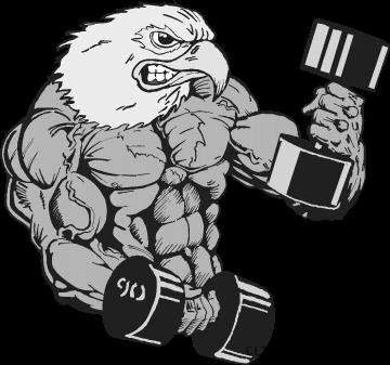clip art library download Clipartblack com animal free. Eagles clipart mascot
