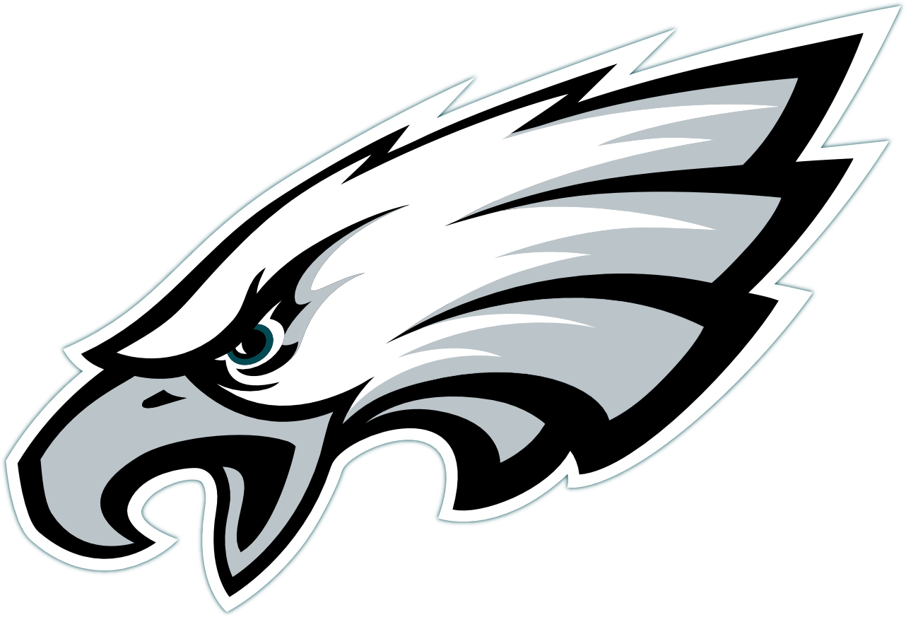 graphic black and white stock  collection of philadelphia. Eagles clipart mascot