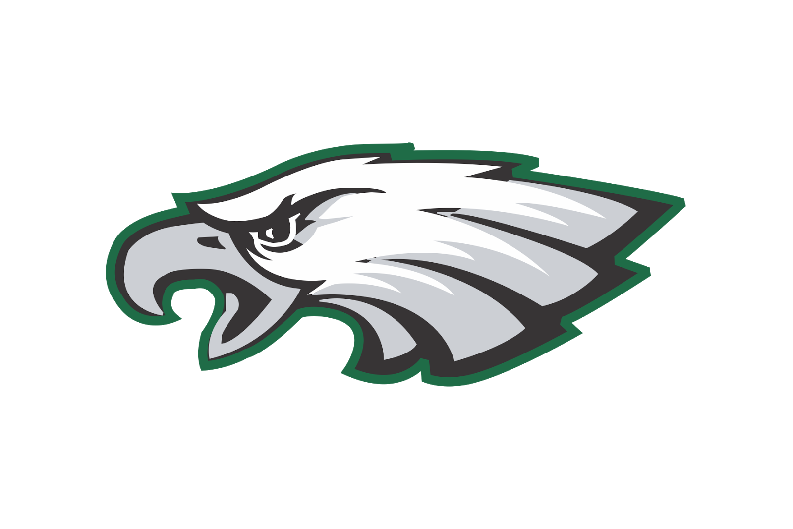 svg download Eagles clipart philly. Png logo free transparent
