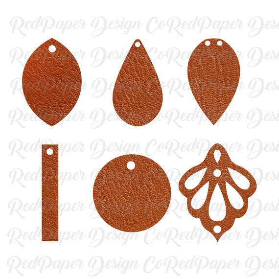graphic freeuse library Cricut earrings faux leather. Earring svg