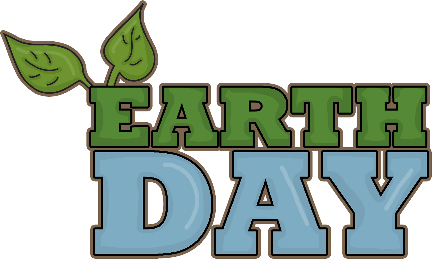 transparent download Celebrate Earth Day on April