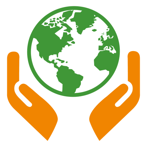 clip art freeuse stock Globe hands icon