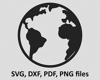 stock Planet earth svg