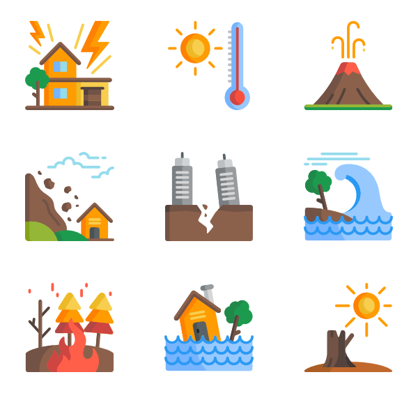 png free library Natural disaster Icons
