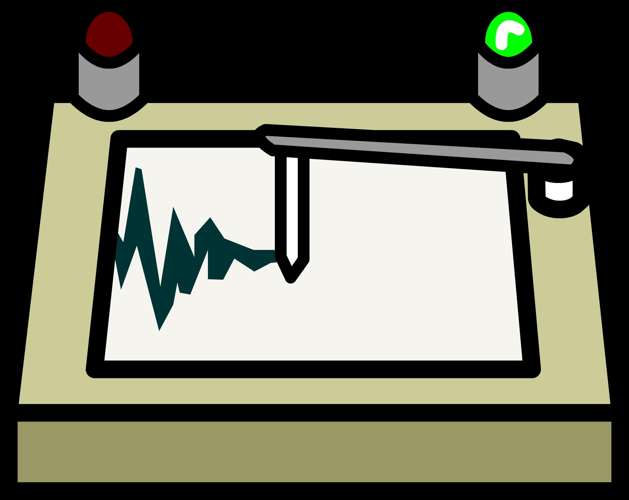 transparent stock Seismograph