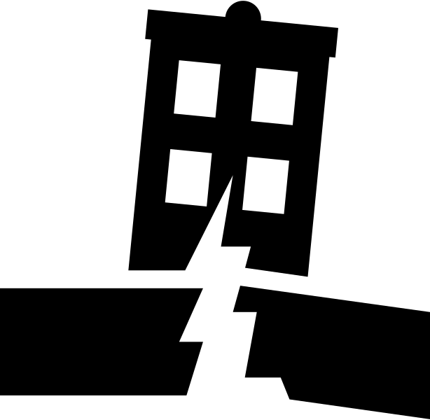 image transparent earthquake clipart symbol #78443355