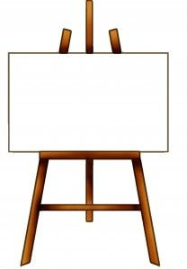 banner royalty free Free painting cliparts download. Easel clipart.
