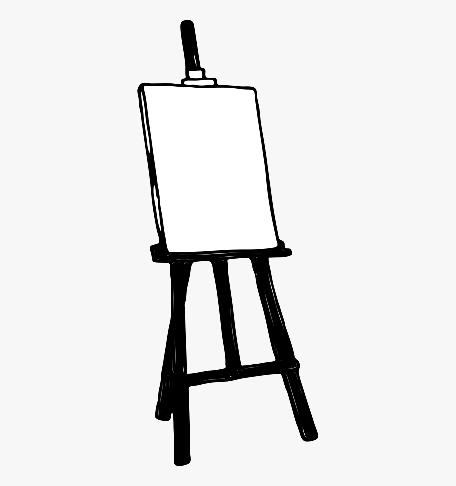 image free stock Cliparts transparent background clip. Art easel clipart.