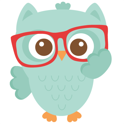 free library Nerdy Owl scrapbook cuts SVG cutting files doodle cut files for
