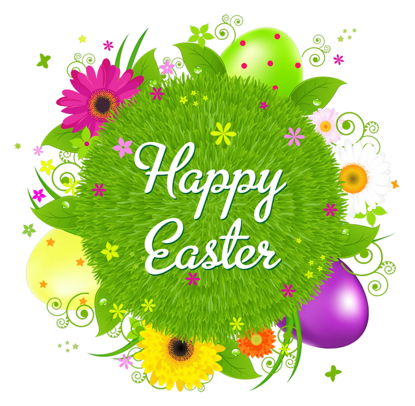image freeuse Happy Easter Transparent Decor PNG Clipart Picture
