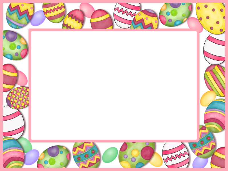 picture library download Free transparent png files. Easter clipart borders