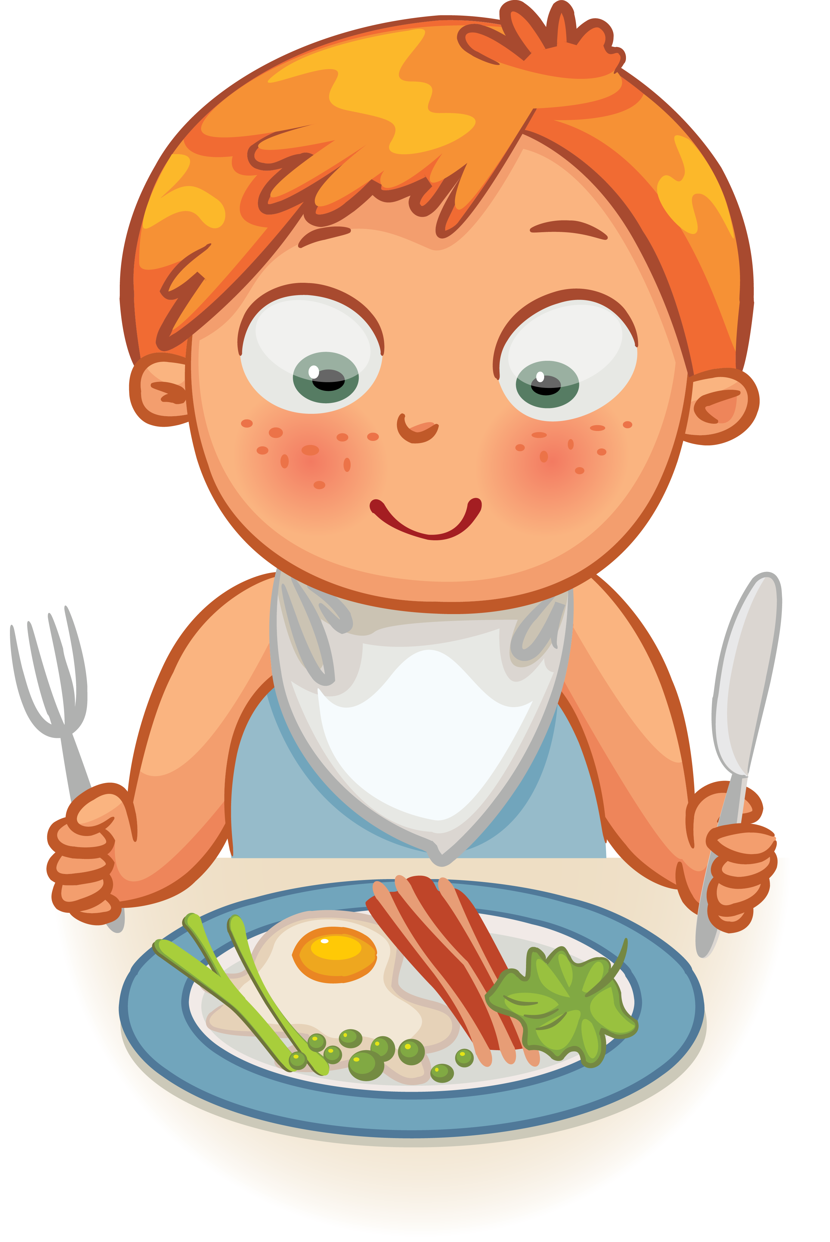 banner free library Kids eating healthy clipart. Breakfast cereal dinner clip.