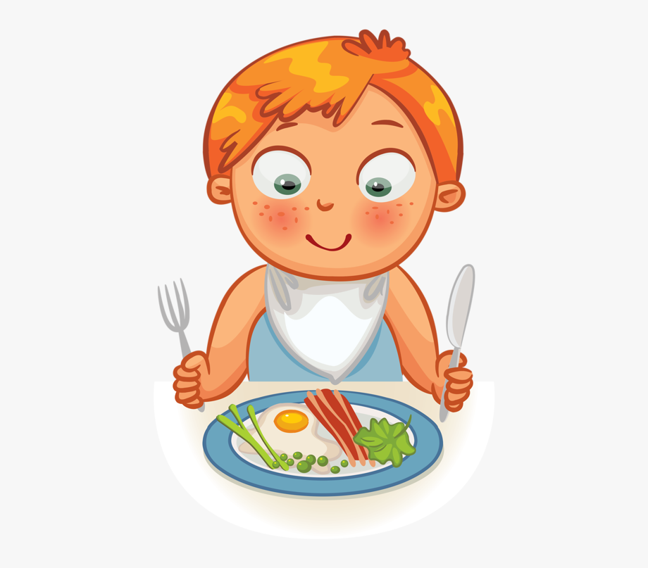 banner free download Clip art girl breakfast. Eat clipart
