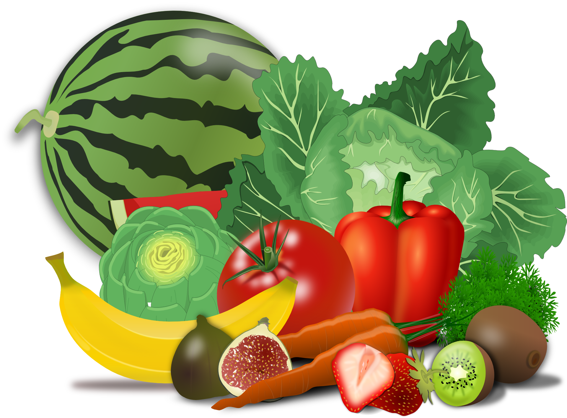 svg freeuse stock Healthy Foods Drawing at GetDrawings