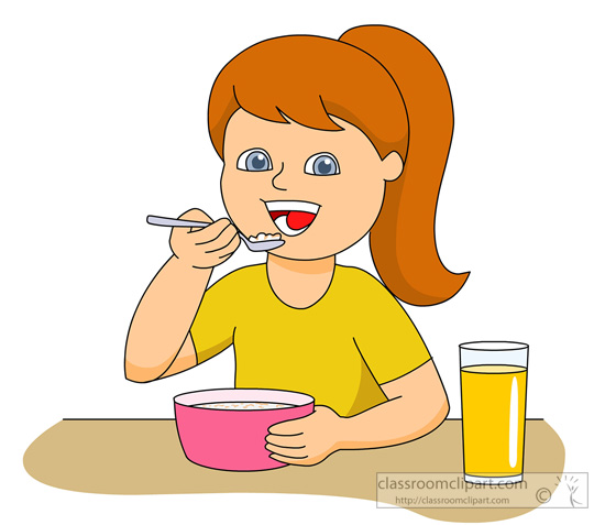 clip transparent stock Free girl cliparts download. Eating clipart.