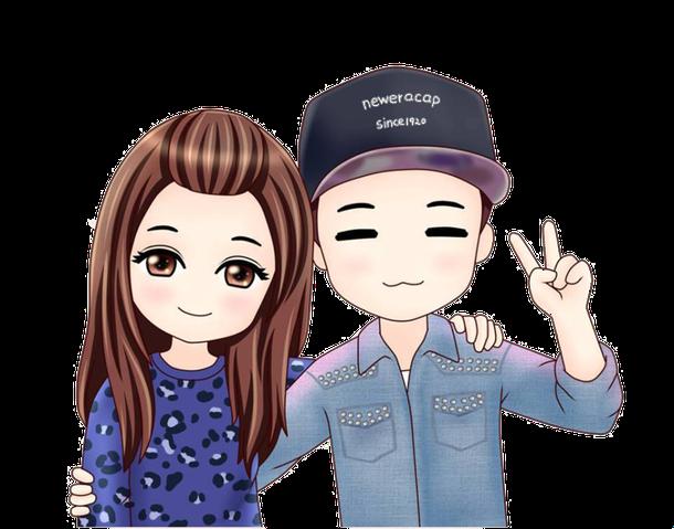 clip art royalty free cute chibi couple