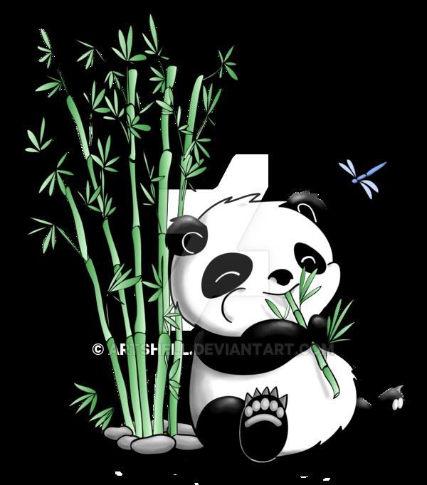 clip download Panda Eating Bamboo by artshell on DeviantArt