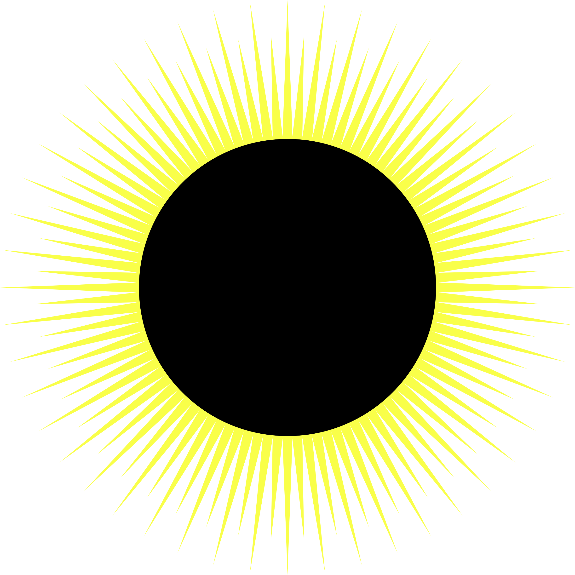 svg royalty free stock Solar big image png. Eclipse clipart.