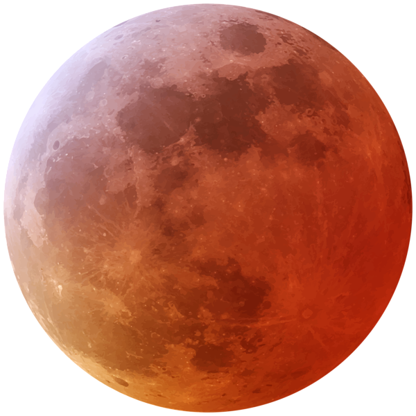 clip stock Png clip art image. Red moon clipart.