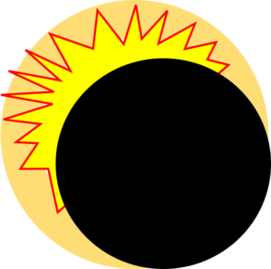 transparent download Eclipse Cartoon Clip Art at Clker
