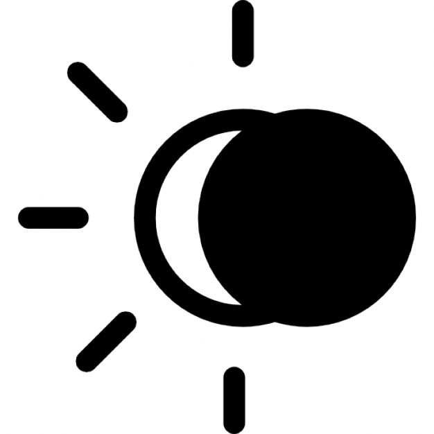 vector library Eclipse clipart eclipse line. .