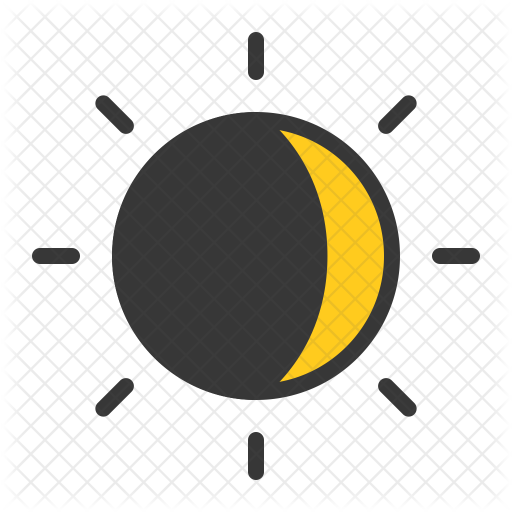 svg black and white Sun Icon