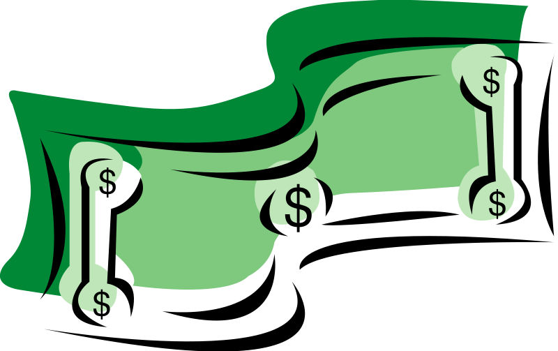 clip art library stock Economy clipart dollar bill. Transparent .