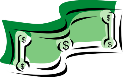 svg black and white Economy clipart dollar bill.  of the easiest.