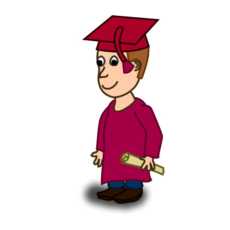 clipart stock Free Graduation Clipart