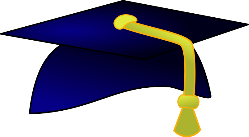 image stock Free education graphics. Graduation clipart graduation hat