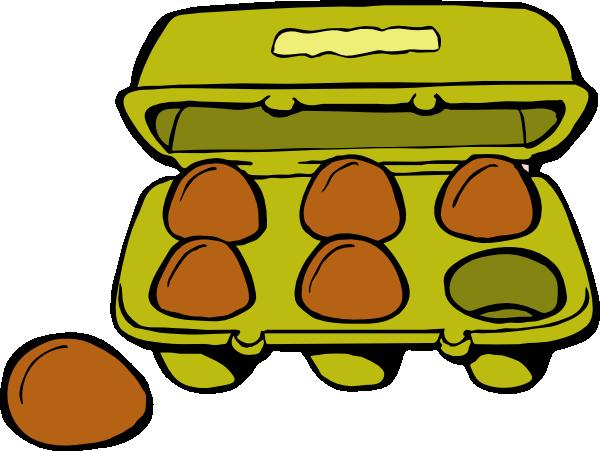 svg free download Egg Carton Clip Art at Clker