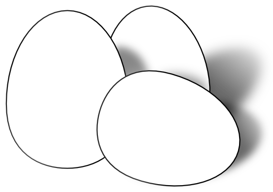banner library library Easter black and white. Egg clipart