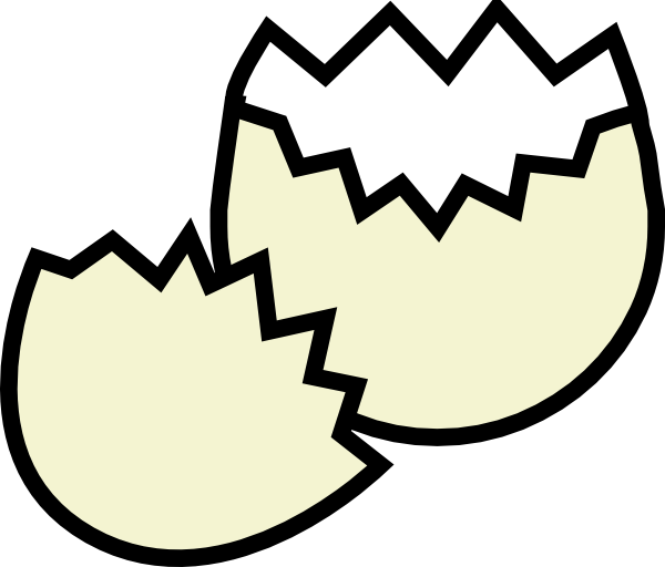 vector freeuse stock Egg Drop Experiment Clip Art