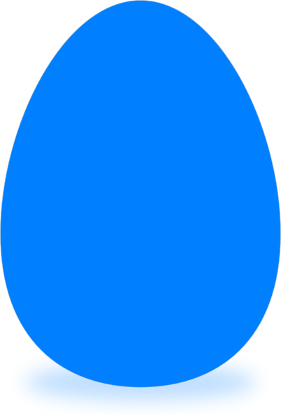jpg stock Blue Egg Clip Art at Clker