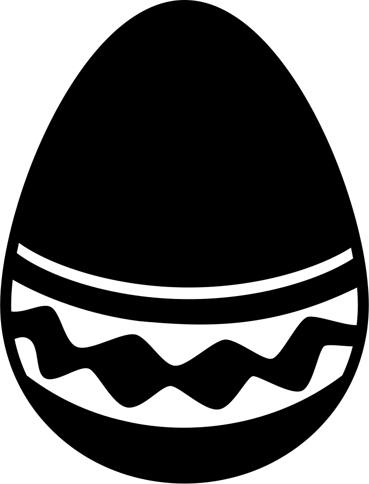 jpg download Easter Egg With A Simple But Elegant Design Svg Png Icon Free