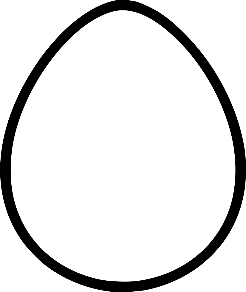 clipart black and white Egg Svg Png Icon Free Download