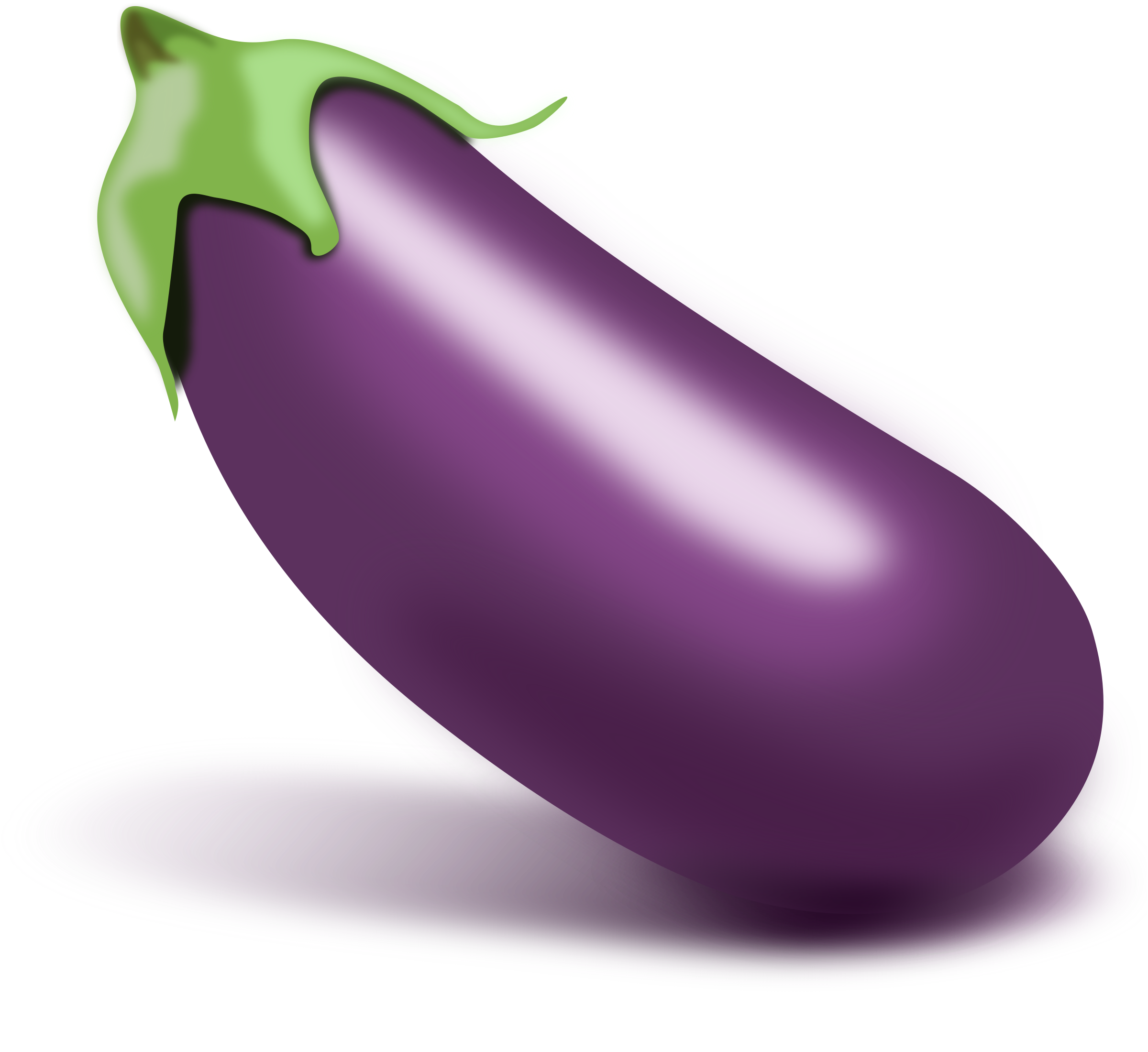 royalty free Eggplant clipart. Isolated big image png