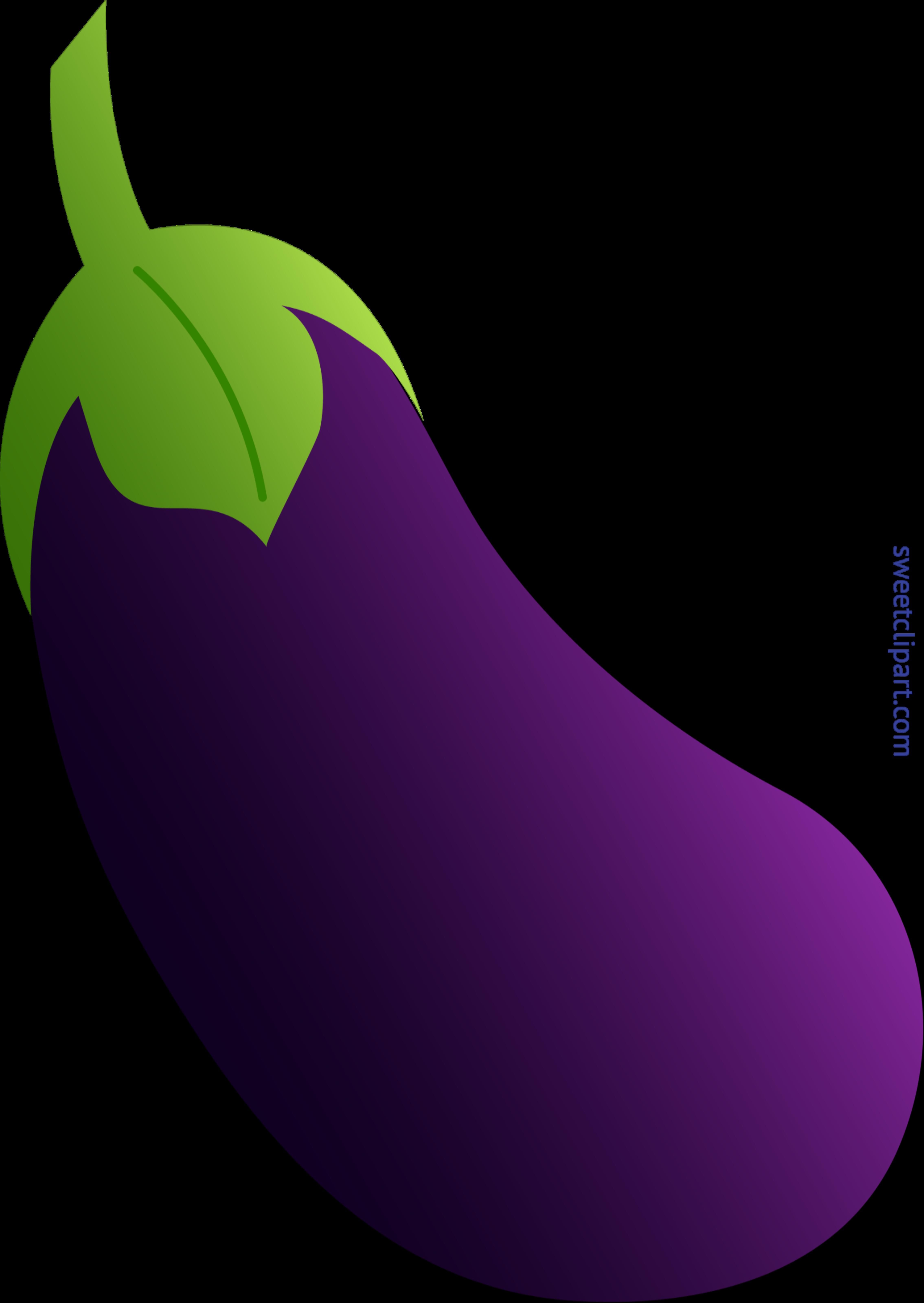 svg free stock Clip art sweet. Eggplant clipart.