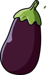 vector stock Clip art pinterest eggplants. Eggplant clipart